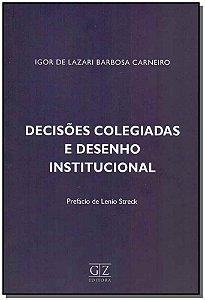 Decisões Colegiadas e Des. Institucional - 01Ed/18