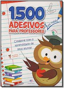 1500 Adesivos Para Professores   - em Inglês - Colabore Com o Aprendizado dos Seus Alunos!