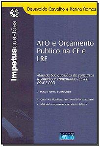 AFO e Orçamento Público na CF e LRF