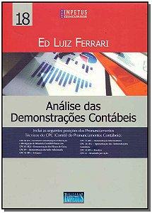 Análise das Demonstrações Contábeis - Vol. 18