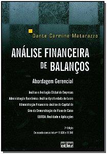 Analise Financeira De Balancas - 07Ed/2017