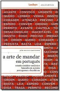Arte De Mandar Em Portugues, A
