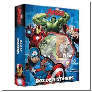 Box - Marvel Vingadores - 06 Vols.
