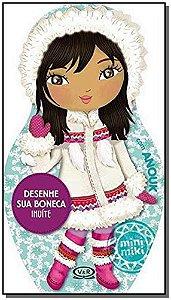 Desenhe Sua Boneca Inuite