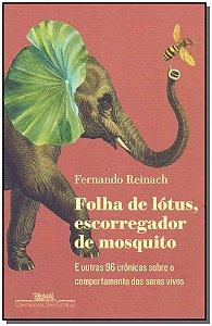 FOLHA DE LOTUS, ESCORREGADOR DE MOSQUITO