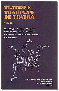 Teatro E Tradução De Teatro - Vol. 2