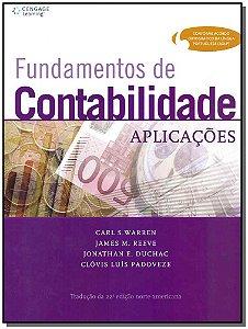 Fundamentos De Contabilidade - Aplicações
