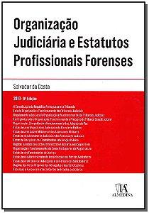 Organização Judiciária E Estatutos Profissionais Forenses - 08Ed/13