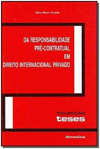 Da Responsailidade Pré-Contratual Em Direito Internacional Privado