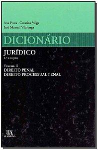 Dicionário Jurídico - Vol. Ii - 02Ed/10