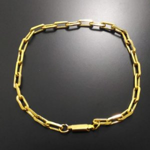 Pulseira Cartier Banhada a Ouro 18K