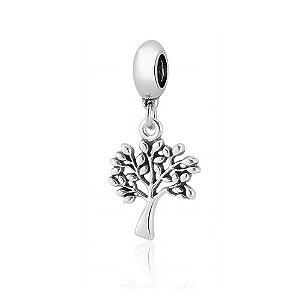Berloque de Prata Árvore
