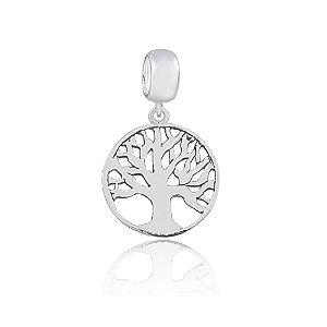 Berloque de Prata Pingente Árvore da Vida