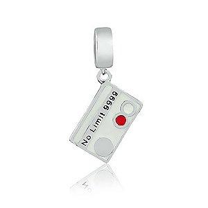 Berloque de Prata Cartão de Crédito