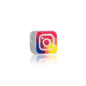 Berloque de Prata Instagram