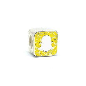 Berloque de Prata Snapchat