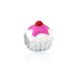 Berloque de Prata Cupcake