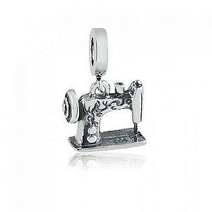 Berloque de Prata Pingente Máquina de Costura