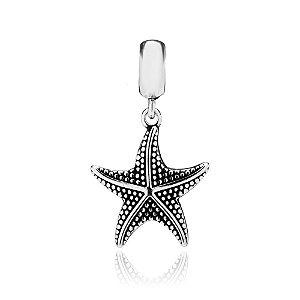 Berloque de Prata Pingente Estrela do Mar