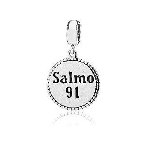 Berloque de Prata Salmo 91