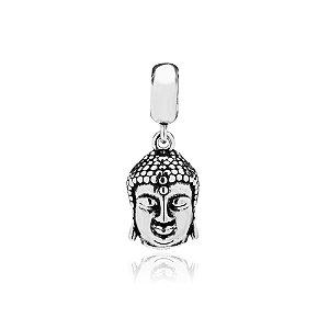 Berloque de Prata Pingente Buda