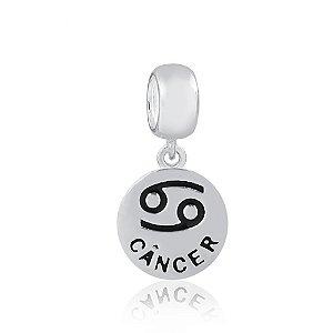 Berloque de Prata Signo Câncer