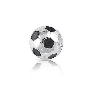 Berloque de Prata Bola de Futebol