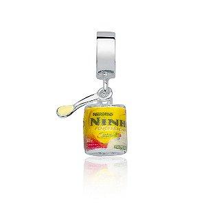 Berloque de Prata Leite Ninho