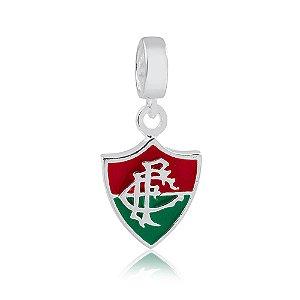 Berloque de Prata Pingente Fluminense