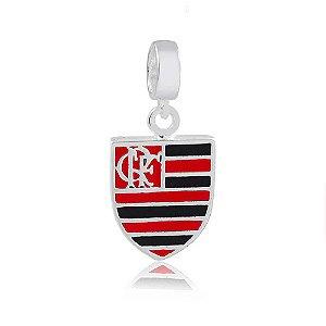 Berloque de Prata Pingente Flamengo
