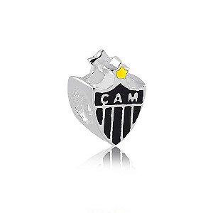 Berloque de Prata Separador Atlético Mineiro