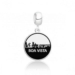 Berloque de Prata Cidade de Boa Vista RR