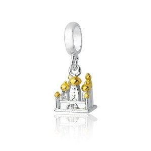 Berloque de Prata Castelo Aladdin