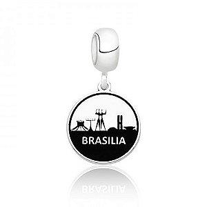 Berloque de Prata Cidade Brasília DF