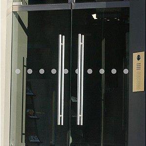 Adesivo Jateado Faixa de Segurança Para Vidros kit com 2 faixas de 100x5 cm