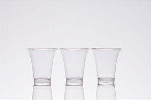 Cálice Cristal Transparente Descartável - caixa com 1000 unidades