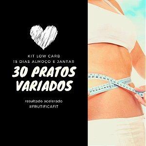 Low Carb Almoço e Janta -  30 pratos