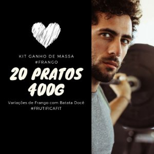 Kit Especial Frango c/ Batata Doce -20 Pratos (400G)