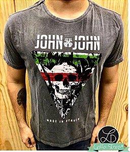 Camiseta Masculina Original Caveira Griffe