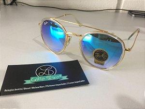 * Oculos de Sol Rayban Round Double Bridge