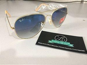 * Oculos de Sol Ray Ban Aviador Degrade