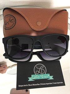 Oculos de Sol Ray Ban Polarizado Justin Madeira