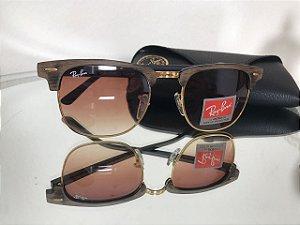 Oculos de Sol Rayban Club Master
