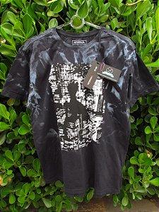 Camiseta Masculina Reserva Marmorizada Noturno
