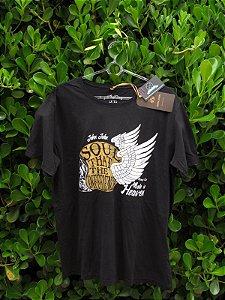 Camiseta Masculina John John Made in Heaven Preta