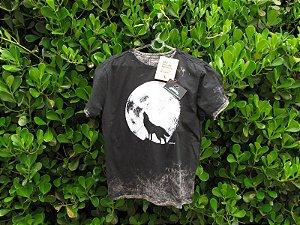 Camiseta Masculina Reserva Lobo Marmorizada Preta