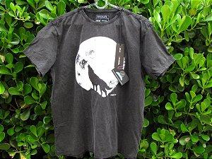 Camiseta Masculina Reserva Lobo Preta