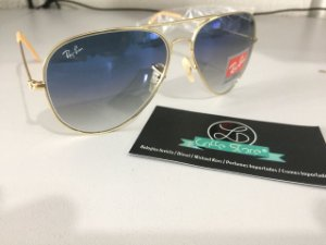 Oculos de Sol Ray Ban Aviador Degrade