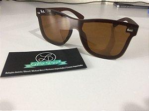 * Oculos de Sol Ray Ban Justin Blaze Marrom