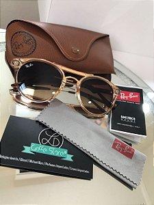 Óculos de Sol Ray Ban Round Degradê A 58516